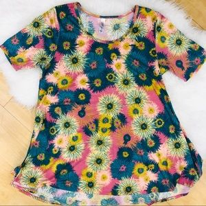 💰lularoe corful tunic size M